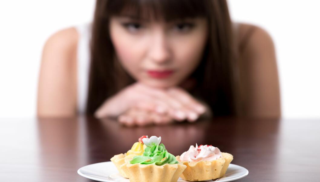 Hvor mye koster det deg å stå imot? Fører et viljesterkt kake-nei til at du tappes for krefter du trenger til andre oppgaver? (Illustrasjonsfoto: Colourbox)