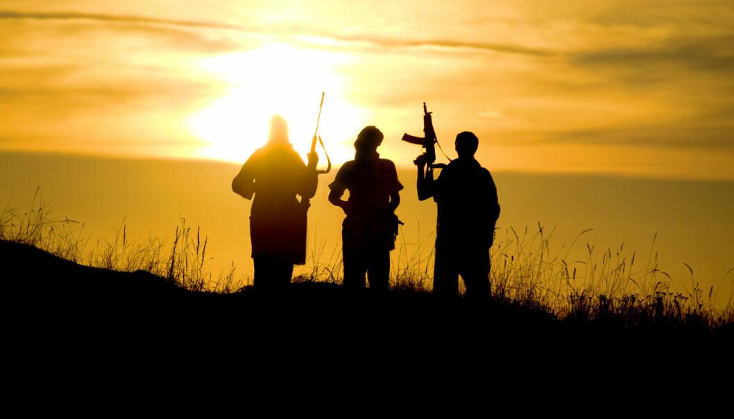 Årsakene til at folk blir med i IS er som regel de samme for menn som for kvinner. Diskriminering, eventyrlyst og søken etter å høre til trekker folk til ekstremismen.  (Foto: Shutterstock / NTB scanpix)