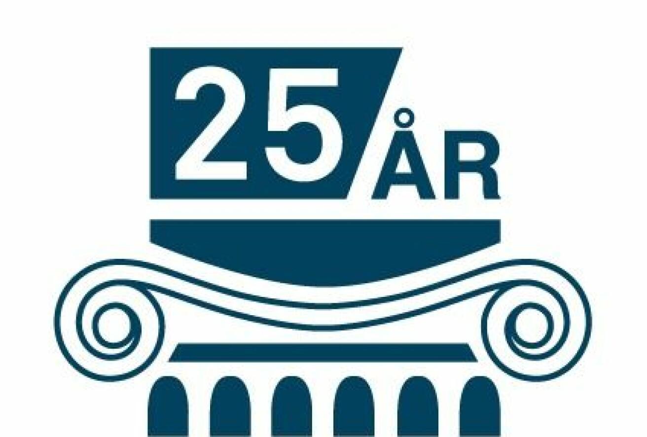 I år er det 25 år siden CAS Oslo åpnet som et frittstående forskningssenter. (Logo: CAS Oslo)
