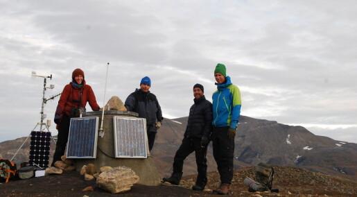 Værstasjoner leverer klimadata fra dyrelivet på Svalbard