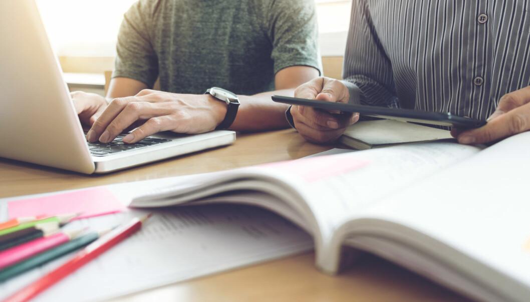 - Trass i alt det arbeidet som er gjort og som gjøres for å utvikle skriving som grunnleggende ferdighet i alle fag, står norsk skole fortsatt overfor store utfordringer, skriver Kjell Lars Berge. (Foto: Shutterstock / NTB scanpix)