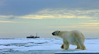 Norsk polarforsking ligg etter industrien