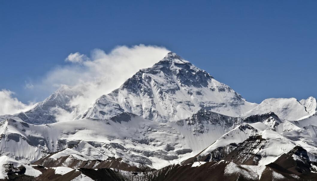 Verdens høyeste fjell, Mount Everest, skal måles for første gang siden 1954. (Foto: Ignacio Salaverria, Shutterstock, NTB scanpix)