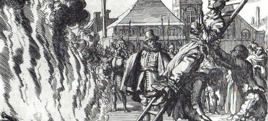 Kongen i Norge ville utrydde alle hekser