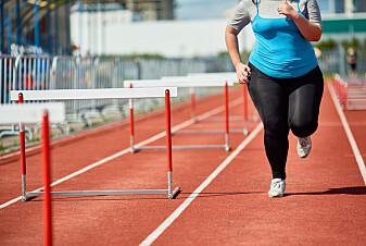 Trening nuller ikke ut høy BMI
