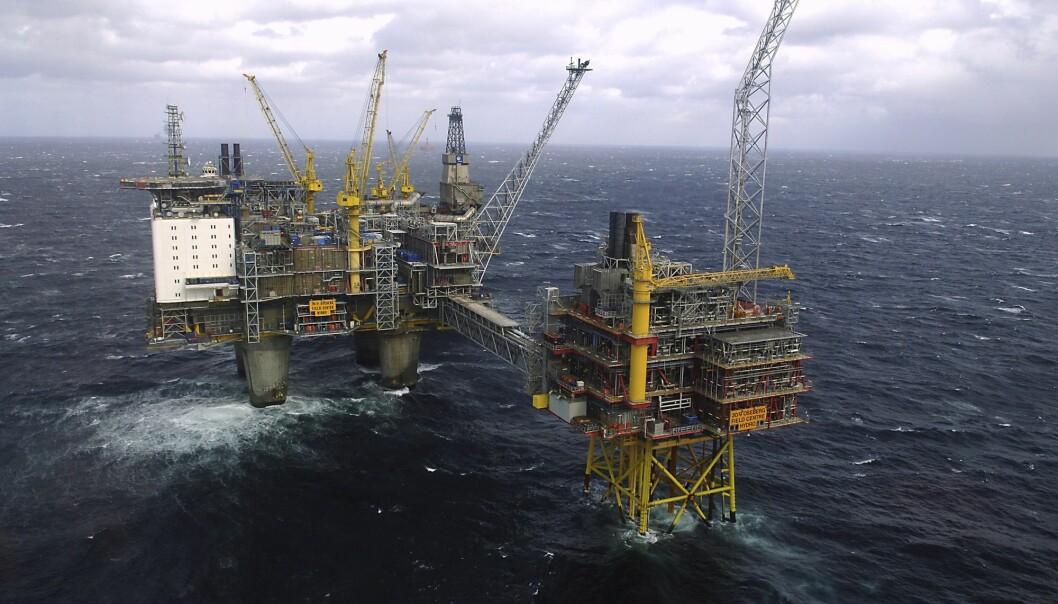Naturvernorganisasjonen Natur og Ungdom mener FNs illevarslende klimarapport vil bety slutten for olje- og gassfelt i Norge. (Arkivfoto: Helge Hansen/NTB scanpix)