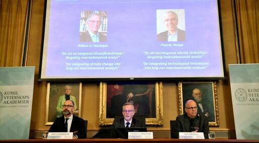 Nobelprisen i økonomi: Her er vinnerne