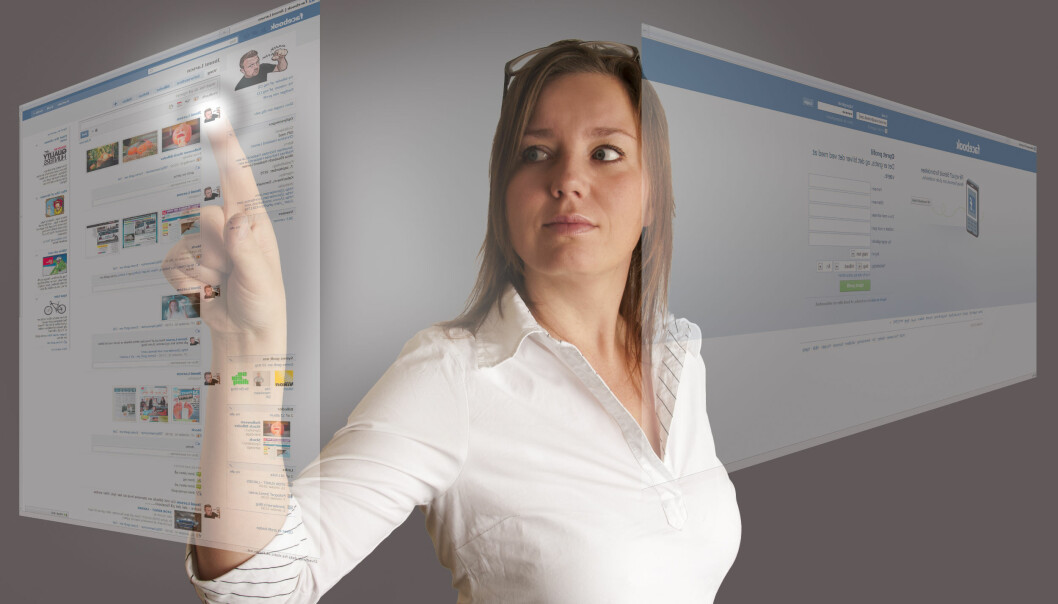 Yngre folk med diabetes 1 får god hjelp i sosiale medier. (Foto: Colourbox)