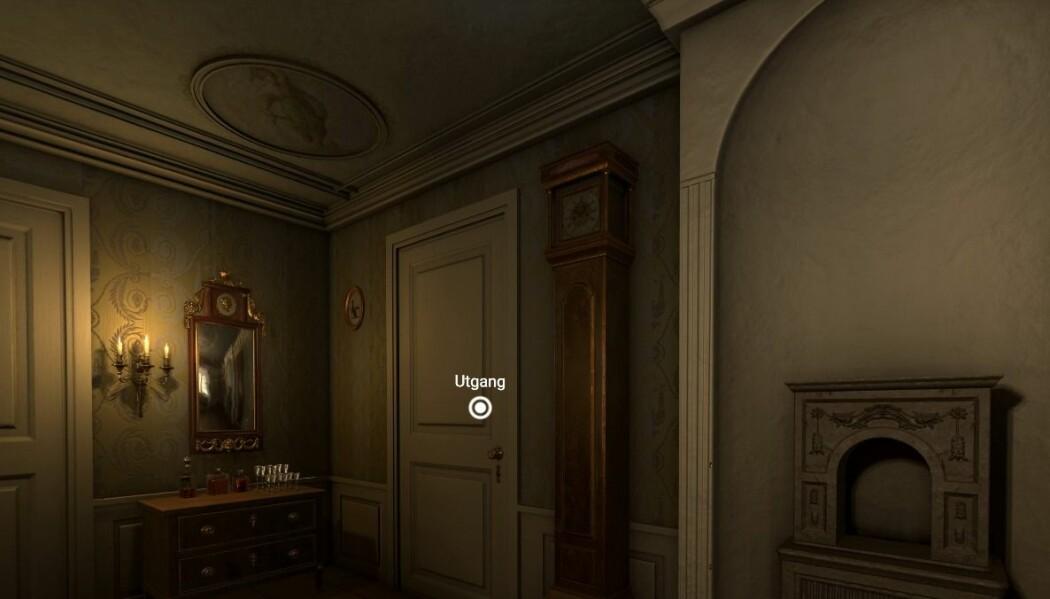I gjenskapningen av interiøret har vi hentet inspirasjon fra tilsvarende gjenstander i norske museer.