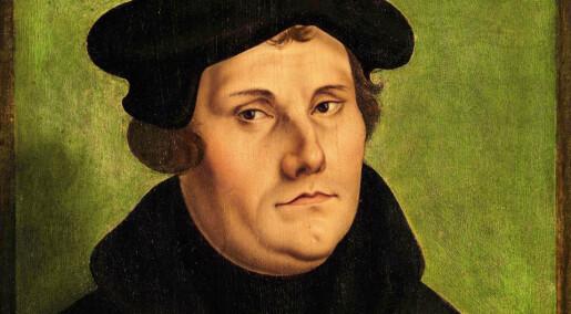 Bare nordmenn er enige med Martin Luther