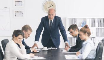 Hvis sjefen ikke liker kritikken du har å komme med, kan du fort få høre at det er du som er problemet. (Foto: Shutterstock / NTB scanpix)
