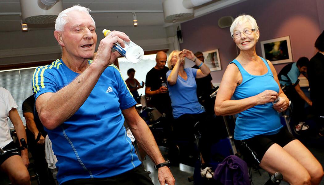 Nå vet forskere mer om hvilke treningsformer eldre foretrekker, og hvem som er i fare for å droppe ut av treningen. (Foto: Andrea Hegdahl Tiltnes, NTNU)