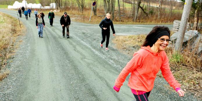 – Frafall fra treningsprogrammer er en utfordring. Allerede ved oppstart kan man fange opp eldre som er utsatt for å hoppe av et treningsprogram, slik at disse kan følges opp og motiveres litt ekstra, sier Reitlo. (Foto: Andrea Hegdahl Tiltnes, NTNU)