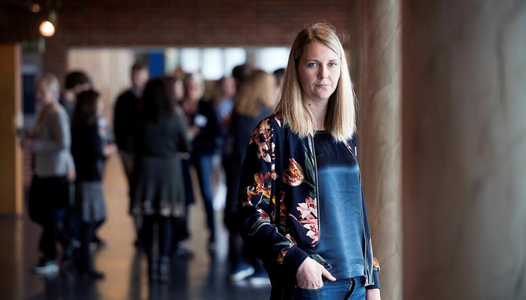 NHH-professor Katrine Vellesen Løken har fått stipend fra Det europeiske forskningsrådet. Fullt stipend er på 1,5 millioner euro, det vil si over 14,5 millioner kroner. (Foto: Odd Mehus)