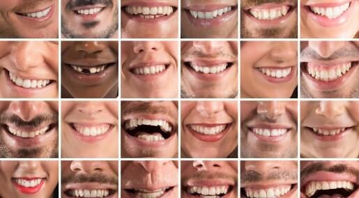 Arver ikke bakterier som gir hull i tennene