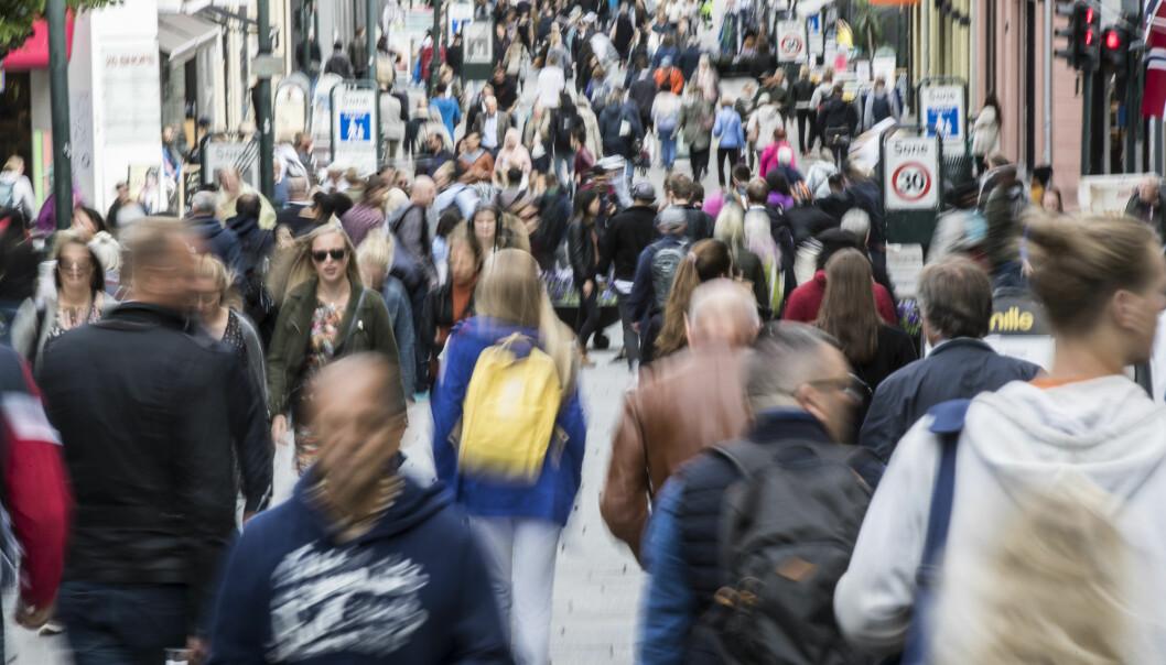Mennesker kan gjenkjenne omtrent 5000 ansikter