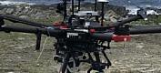 Forskarar brukar drone for å ta bilete av tang og tare