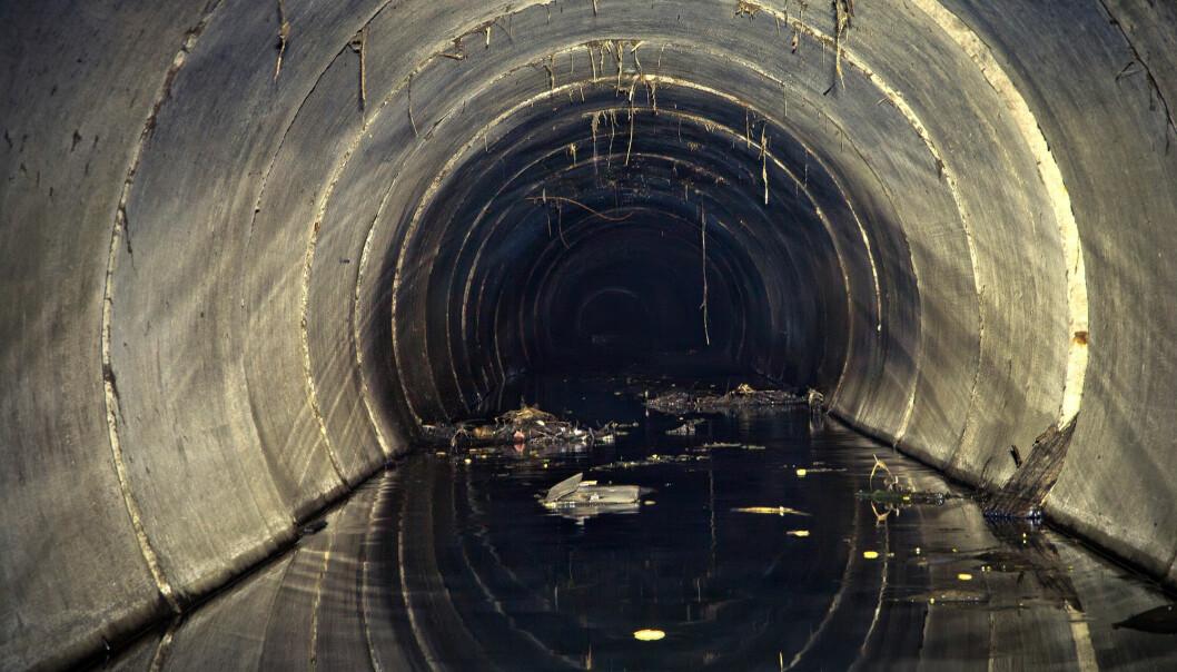 Hydrogensulfid finnes blant annet i renseanlegg og kloakkledninger. Gassen er både giftig og ødelegger metall. Nå har forskere funnet en smart måte å fjerne gassen på. (Illustrasjonsfoto: Vladimir Mulder / Shutterstock / NTB scanpix)