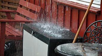 Mer regn skaper trøbbel også for norske hus