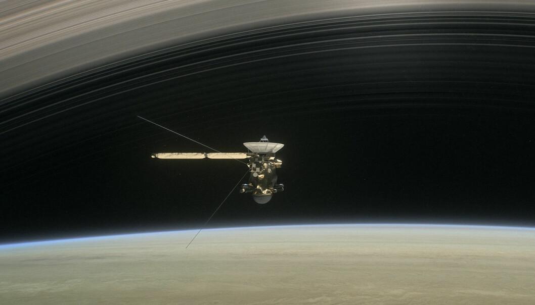13 års forskningseventyr ved Saturn avsluttes