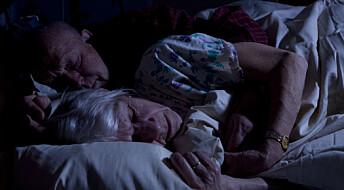 Forskere fant sammenheng mellom søvnproblemer og Alzheimers