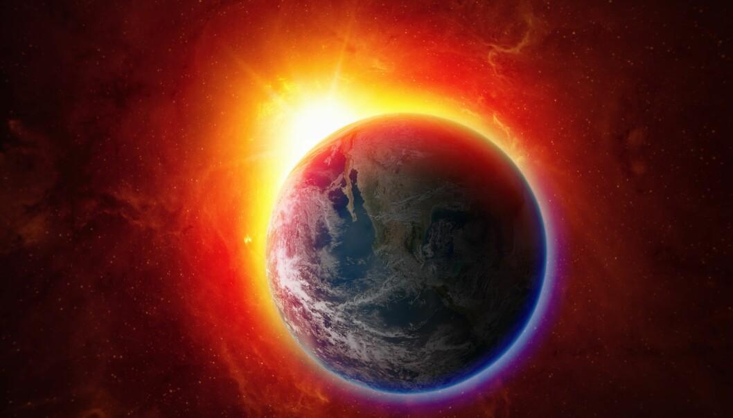 Klima i verden og i klimadebatten blir stadig varmere.  (Illustrasjonsfoto: Colourbox)