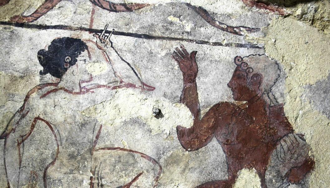 Urgamle ritualer: Orgasme, blod og erotisk dans skulle hjelpe etruskerne til Dødsriket