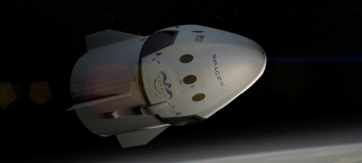 Romstasjonen eller Mars – dilemma for SpaceX Dragon 2