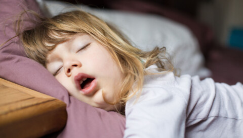 Når slutter barn å sove på dagen