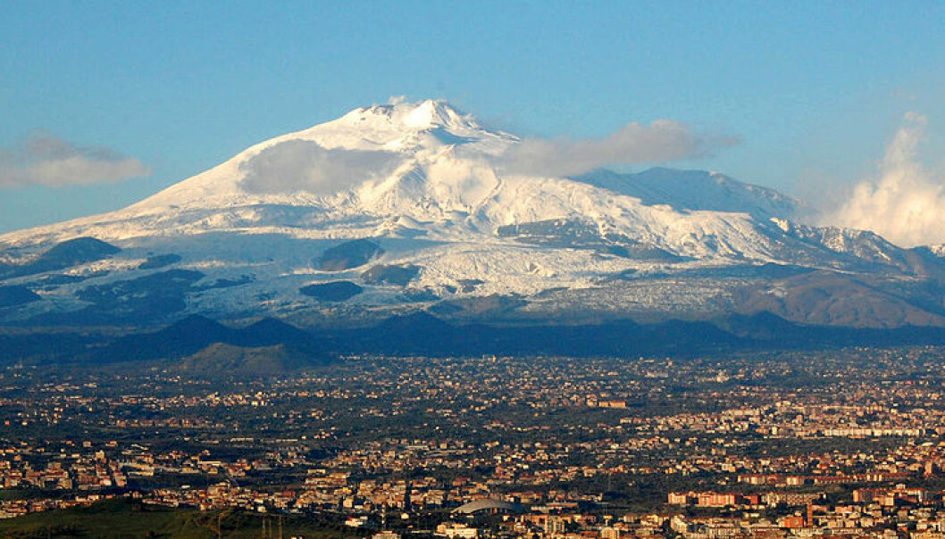 Etna på Sicilia. (Bilde: BenAveling/CC BY-SA 4.0)