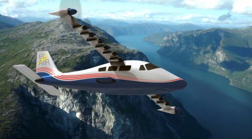 Slik kan du fly elektrisk om 15 år