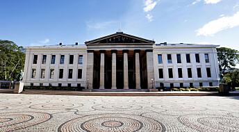 Omdømmet til Universitetet i Oslo har blitt dårligere