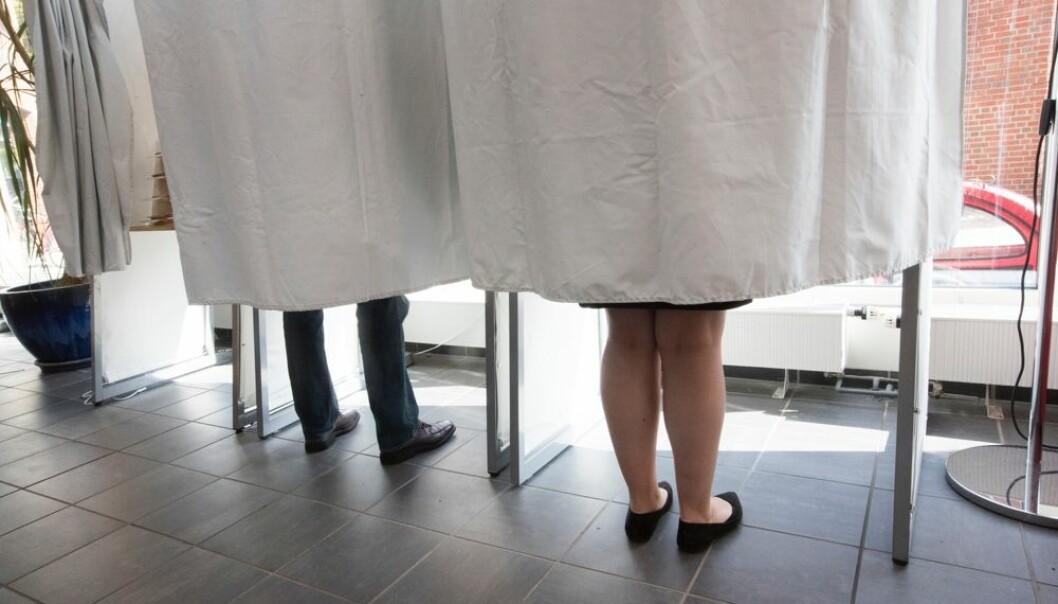 Valgdeltakelsen er i Norge generelt høyere for kvinner enn for menn. Blant innvandrere er det ingen klar trend med hensyn til kjønn og valgdeltakelse.  (Foto: Terje Pedersen / NTB scanpix)