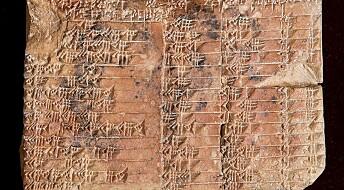 Er denne 3800 år gamle tavla mer nøyaktig enn dagens matematikk?