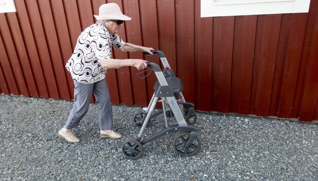 Nordmenn kommer til å bli eldre og eldre, men levealdersforventningene øker ikke nødvendigvis like mye som i nabolandene våre. (Foto: Gorm Kallestad / NTB scanpix)