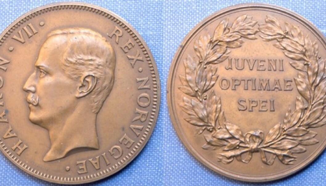 H.M. Kongens gullmedalje.
