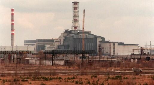 Langsom nedgang i Tsjernobyl-forurensning