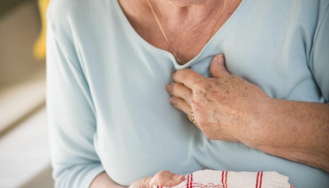 Svenske forskere har koblet 280 000 hjerteinfarkt med værdata. (Foto: Shutterstock / NTB scanpix)