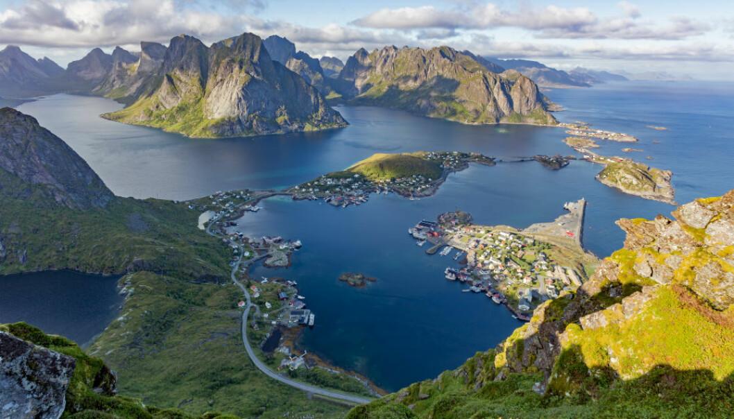 Spektakulære bilder fra toppen av Reinebringenlokker mennesker fra hele verden til å sette kursen mot Norge og Lofoten. (Foto: Shutterstock / NTB scanpix)