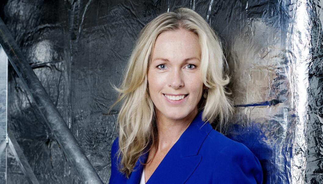 Anita Krohn Traaseth, administrerende direktør i Innovasjon Norge, svarer på kritikken fra Johan Hustad i NTNU Energi. (Foto: Agnete Brun / Innovasjon Norge)