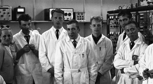 50 år siden de første norske eksperimentene i rommet