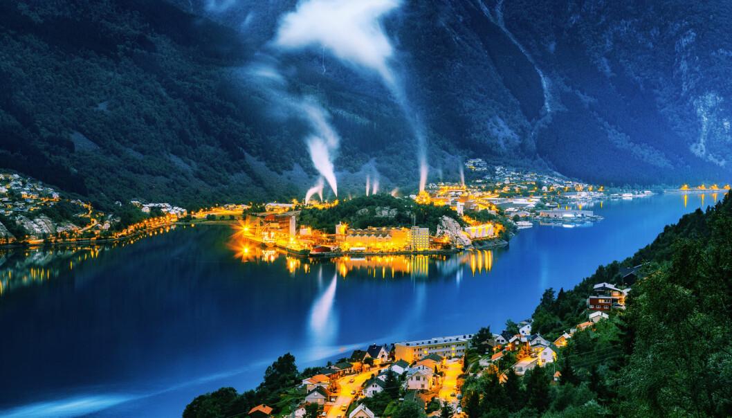 Industridialektene i Odda, Tyssedal, Sauda og Årdal