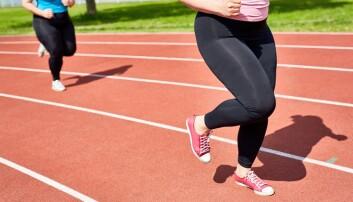 Dersom mageomkretsen øker med bare én centimeter, blir kondisjonen redusert tilsvarende ett års aldring for kvinner og et og et halvtårs aldring for menn. (Illustrasjonsfoto: Colourbox)