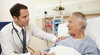 Et blikk fra en lege er bedre enn algoritmer til å se om en pasient kommer til å dø snart