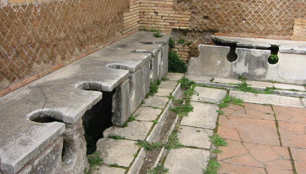 Romerske doer i havnebyen Ostia. (Foto: Fubar Obfusco)