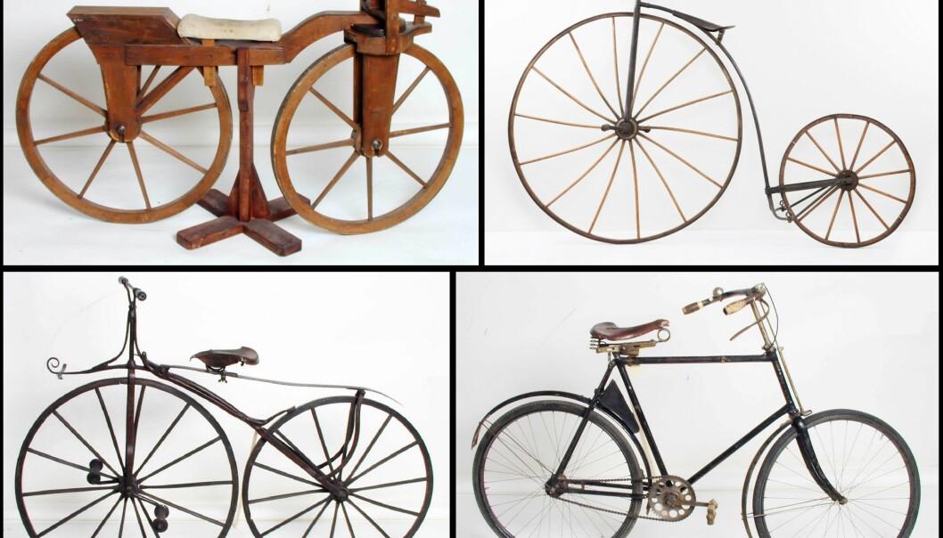 Sykkelens utvikling: Fra løpemaskin til elsykkel