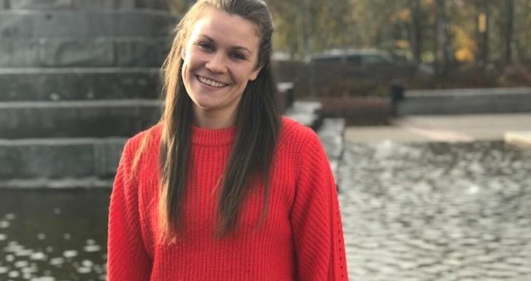 Det er nå fire år siden sist Nina Emilie Ørbech var innlagt på psykiatrisk sykehus. Hun har fått noen verktøy for å unngå at sykdommen tar kontroll over livet. (Foto: Siw Ellen Jakobsen)