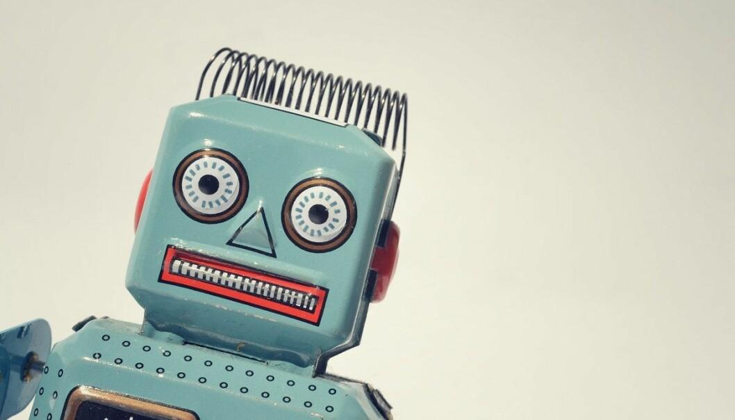 Robotene står klare til å ta over enkle administrative jobber på universitetene, men de vil garantert ikke se slik ut. Dagens saksbehandler-roboter ser ut som en ganske vanlig, kjedelig server.  (Foto: josefkubes, Shutterstock, NTB scanpix)