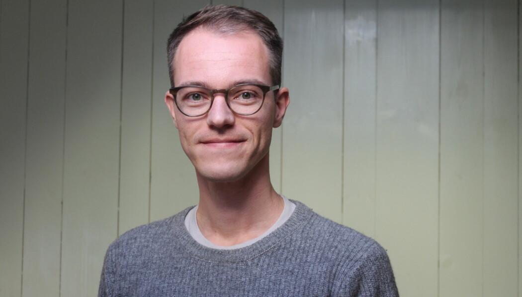 - Kroppsvæskene er et tema som vekker mange assosiasjoner og som inneholder et skattkammer med skikkelig gode historier, sier forskningsformidler og forfatter Åsmund Eikenes. (Foto: Elise Kjørstad).