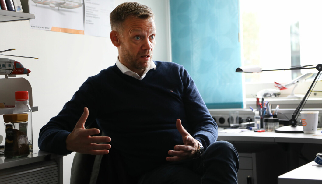 Vegard Nergård (45) har fått en professortittel som ingen andre i Norge har. ( Foto: David Jensen)